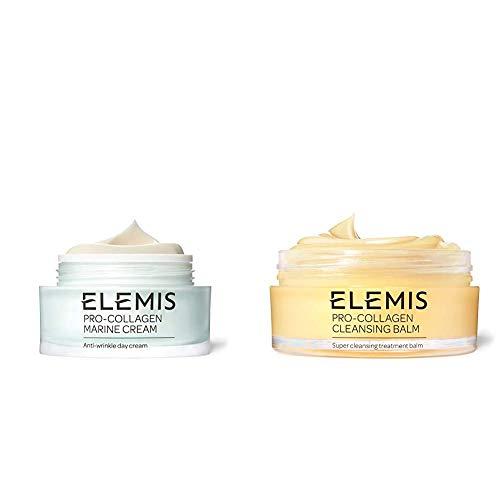 ELEMIS Pro-Collagen Marine Cream, Anti-wrinkle Day Cream + ELEMIS Pro-Collagen Cleansing Balm, 3.5 fl. oz.