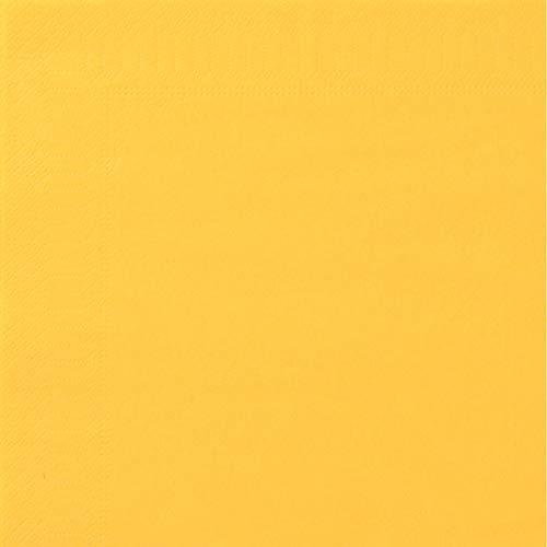 Toalla, 2 Hojas, 20 x 20 cm, Amarillo Sol, 18 Paquetes de 100