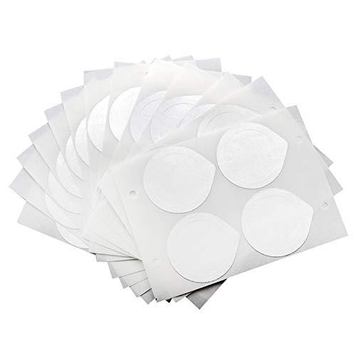 Tapas de Papel de Aluminio Autoadhesivas de 120 Hojas 30 Hojas para reutilizar cápsulas compatibles con Las cápsulas de café de la máquina Nespresso
