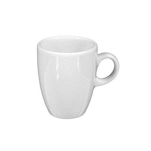 Seltmann Weiden Obere zur Espressotasse 5012 6 Stück VIP. Weiss Uni 00003