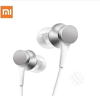 OUYAWEI for Xiaomi Mi Piston Wired Earphone with Mic Silver