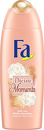 FA Duschcreme Divine Moments mit Duft von Wilden Kamlien, 6er Pack, 6 x 250 ml