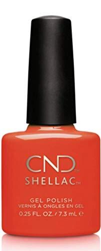 CND Shellac Electric orange, 1er Pack (1 x 7,3 ml)