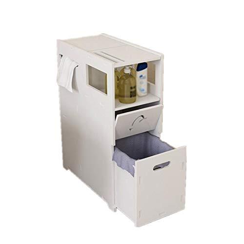 Mobiletto WC Gabinetto per Gabinetto del Gabinetto del Gabinetto del Gabinetto del Water Bagno Bagno Bagno Bagno Mobile da Bagno Adatto per Conservare Articoli da Toeletta