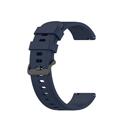 LGFCOK Correa de silicona deportiva 20mm 22mm para Amazfit GTR 42mm 47mm GTS para Samsung Galaxy Watch Active2 S2 S3 para Huawei GT correa de reloj correa