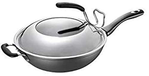 Woks - Pentole da cucina casalinga senza fumi, sicure e sane, non stick