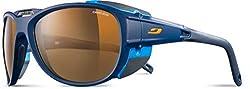 Julbo Explorer 2.0 Mountaineering Glacier Sunglasses - Spectron 4 - Matt Gray/Green