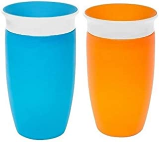 Munchkin Miracle 360 Sippy Cup (2 Pack) Blue&Orange