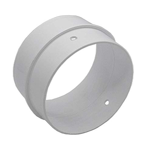 Kair Round Connector 100mm - 4 inch to Connect Duct Pipe or Flexible Ducting Hose