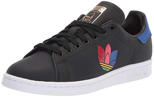 adidas Originals Stan Smith, Zapatillas Deportivas. para Mujer, Color Negro y Azul, 40 EU