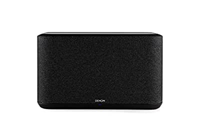 Denon Home 350 Wireless Speaker, Stereo speaker with Bluetooth, WiFi, AirPlay 2, Google Assistant / Siri / Alexa Compatible, Music Streaming, HEOS Built-in for Multiroom - Black by Denon