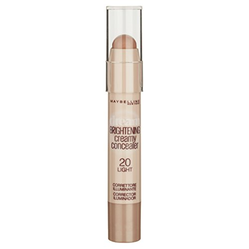 Maybelline New York Dream Brightening Concealer Correttore per Occhiaia Illuminante in Stick, 20 Light