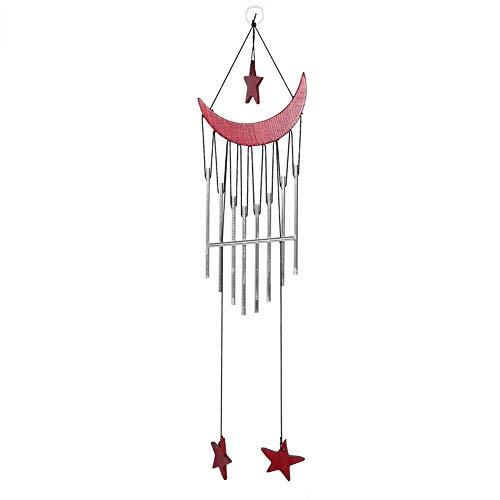 Campanas de viento - Campanas de viento Decoración para colgar en la ventana Campana de viento Adorno para el hogar Decoración para patio al aire libre (Metálico)