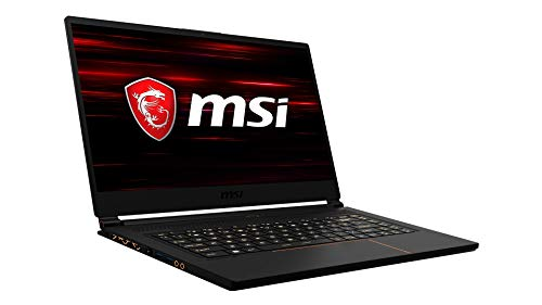 MSI GS65 9SG-444 Stealth (39,6 cm/15,6 Zoll/240Hz) Gaming-Notebook (Intel Core i7-9750H, 32GB RAM, 2TB PCIe SSD, Nvidia GeForce RTX2080 8GB, Windows 10 Pro)