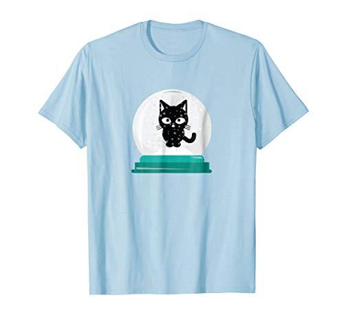 Cat Snow Globe T Shirt