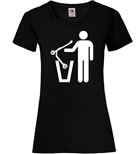 Shirt84.de - Camiseta de manga corta para mujer Negro XXL
