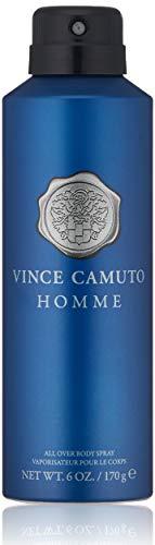 Vince Camuto Homme Body Spray for Men, 6 Fl Oz
