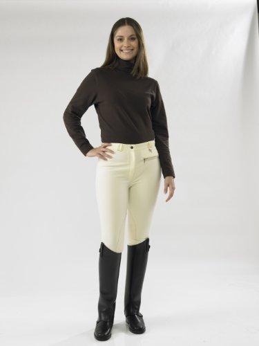 TOGGI, Pantaloni da Equitazione Classici Donna, Bianco (- Blanc Hiver), 86 cm