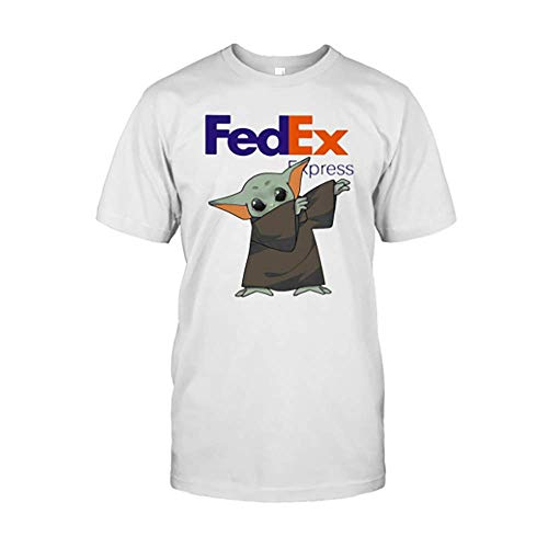 Dabbing Bäbÿ yödä Mäsk Fe.Dex Ex.Press Logo Cörönävïrüs Shirts Birthday Gifts for Men Women Kids, Crew Neck Short Sleeve Gifts