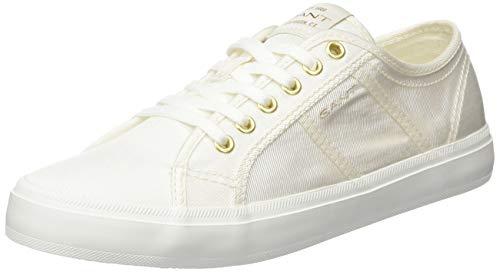 GANT Footwear Damen PINESTREET Sneaker, Weiß (White G29), 39 EU