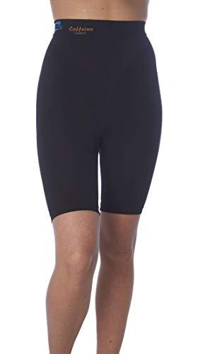 CzSalus Shorts (Boxer) Anti-Cellulite Minceur Gaine avec caféine + Vitamine E - Noir Taille XL