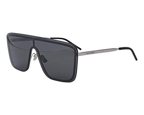 SAINT LAURENT Gafas de Sol SL 364 MASK SILVER/GREY 99/1/140 unisex