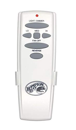 Hampton Bay Remote Control UC7078T with Reverse and Hampton Bay Logo