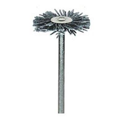 Dremel 538 Graupner Hochleistungs-Schleifbürste (Zubehörsatz für Multifunktionswerkzeug mit 1 Schleifbürste für Reinigungsarbeiten zum Entgraten, Rost beseitigen u.v.m.)