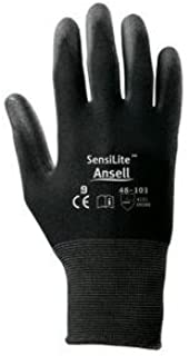 205652 8 Hyflex Ultra Lightweight Assembly Glove - Ansell 11-600-8-BK (12/PR)