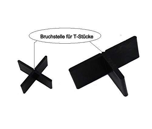 Fugenkreuze in 3mm ,4mm oder 5mm für Terrassenplatten auch Bodenplatten (200, Fugenbreite 3mm Fugenhöhe 20mm)