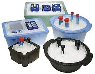 Argos Technologies PolarSafe Ice Bucket with Lid, 5 L, Polystyrene, Black; Each