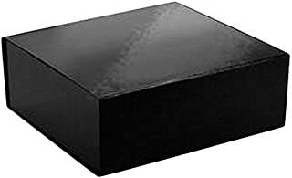 CECO EZA 1231 Glossy Black Gift/Decorative Box, Black