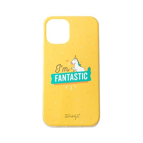 Mr. Wonderful Carcasa iPhone 12 Compatible con iPhone 12 Pro I´m Fantastic