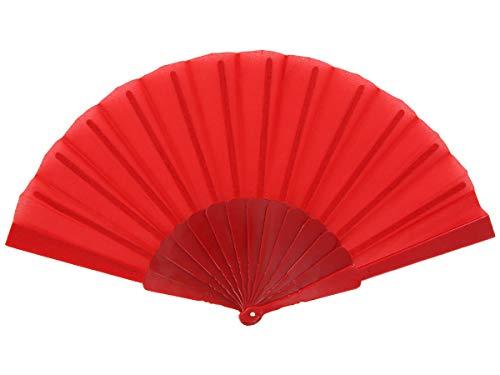 Alsino Handfächer Fächer Hochzeit Flamenco Tanzfächer Stofffächer Taschenfächer Klappfächer...