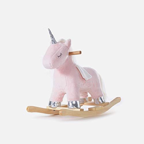 Cheval à bascule LINGZHIGAN Bébé Rocking Horse Enfants Rocking Horse Troyens Cadeau d'anniversaire for bébé Jouet