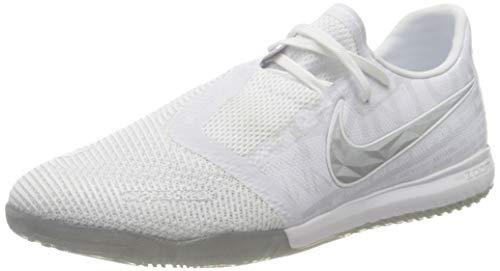 Nike Zoom Phantom Venom PRO IC, Scarpe da Calcetto Indoor Unisex-Adulto, Multicolore, Bianco, Cromo, Argento Metallizzato, 100, 42 EU