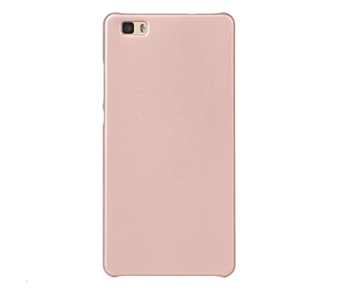 ARTILVST Huawei P8 Lite (2015) (5.0') Funda,Ultra Fino Medio rodeó la Estructura de Superficie Mate Durable PC Protector teléfono Funda para Huawei P8 Lite (2015) (5.0') Smartphone [Oro Rosa]