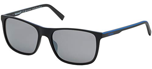 TIMBERLAND EYEWEAR Herren Tb9195 Sonnenbrille, Schwarz, 58