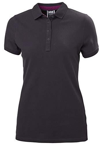 Helly Hansen Crew Pique 2 Camisa Polo, Mujer, Nightshade, S