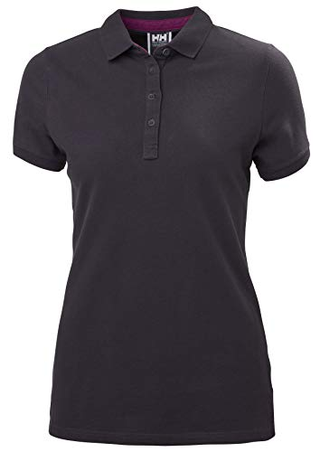 Helly Hansen Damen Damen Polo Crew Pique 2 Polo, Nightshade, S, 53055