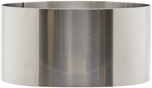 Lacor 68612 Emporte-Pièces Cercle à Tarte Rond 12 x 6 cm 18 / 10