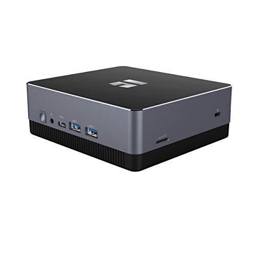 TREKSTOR WBX5005 Mini-PC (Intel Core i3 Prozessor, 8 GB RAM, 256 GB Speicher, SSD-Erweiterungsslot, LAN, WLAN, Windows 10 Home)