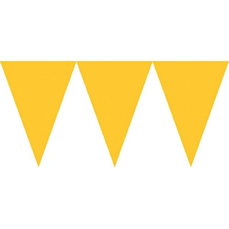 Sunshine Yellow Pennant Banner   Party Decor