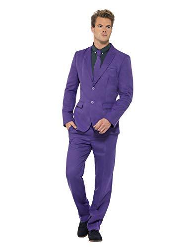 SMIFFYS Il completo Viola, con giacca, pantalone e cravatta
