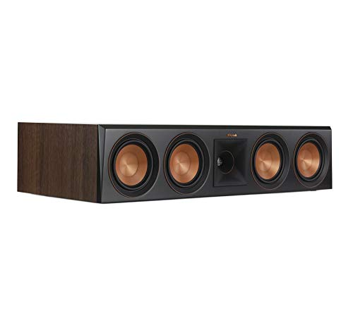 Find Bargain Klipsch RP-504C Center Channel Speaker (Walnut) (Renewed)