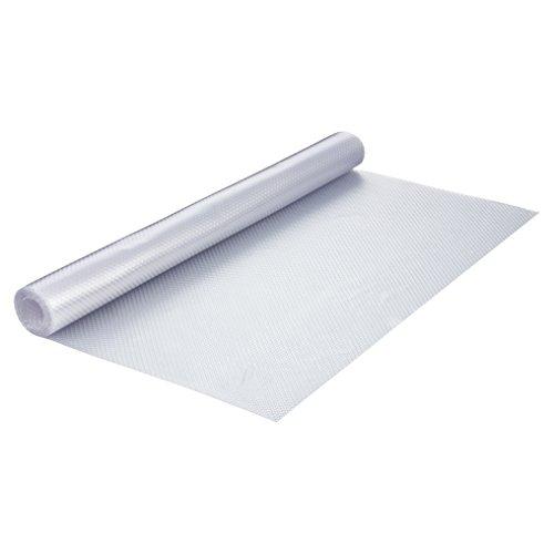 haggiy Schubladeneinlage - Küchenschrankeinlage 200 x 48 cm, rutschfest und elastisch (Transparent)