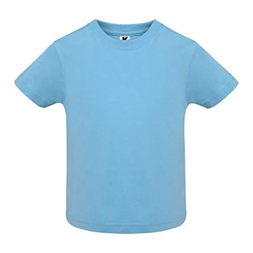 Camiseta de Colores con Manga Corta para Bebés - Prenda de algodón...