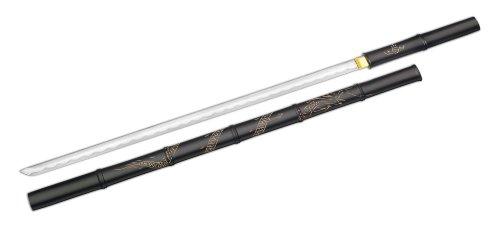 Magnum Messer Black Bamboo 69 cm, Schwarz/Silber, STANDARD