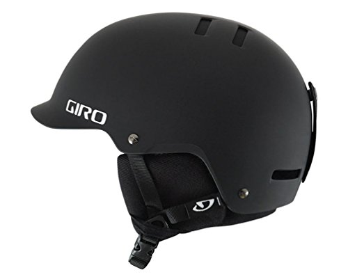 Giro Surface-S Snow Helmet (Matte Black, Large)