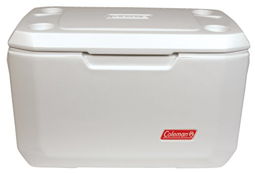 Coleman Coastal Xtreme Series Marine Portable Cooler, White, 70 Quart